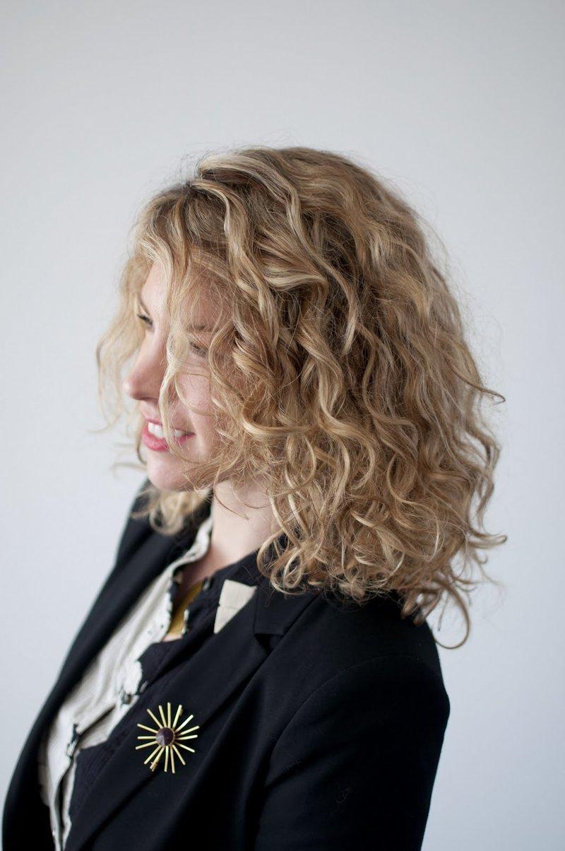 карвинг на средней длины волосы фото