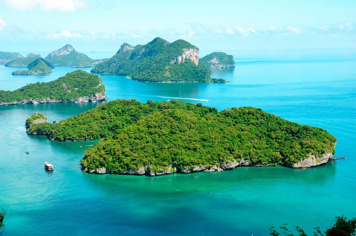 райские острова фото в тайланде тем строение такой