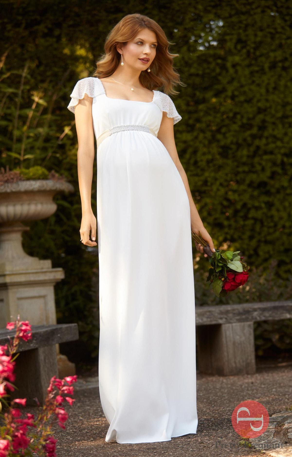 https   PrettyPregnant.ru Свадебное платье для беременных Верона Айвори - в  магазине 70593c17d0d