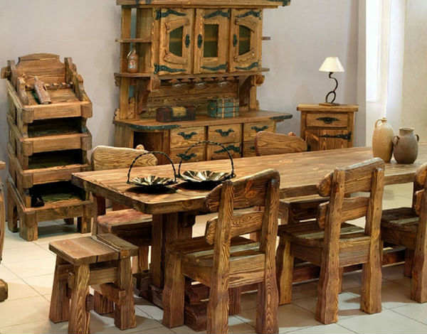 Мебель для дачи из дерева своими руками видео 64