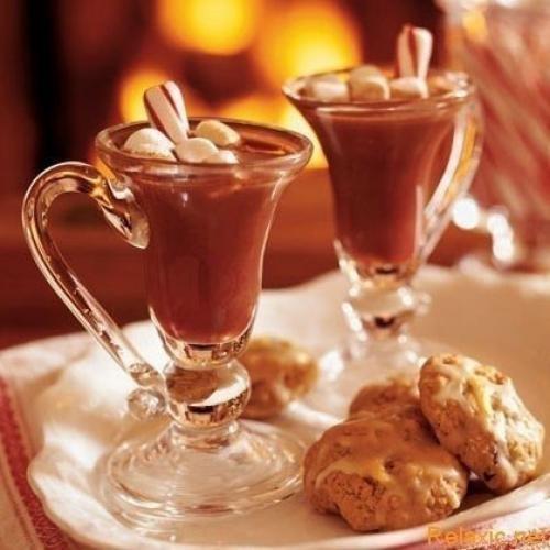 может рецепт горячий шоколад зимнийвечер из игры мой кафе правило помощник