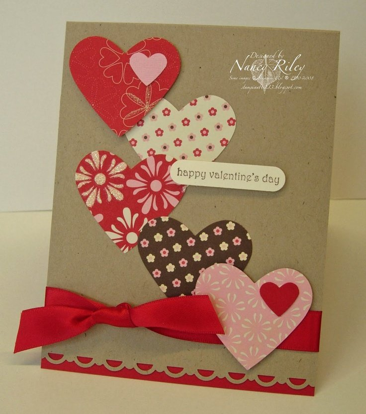 Открытки своими руками сделать на день влюбленных, уфе открытки