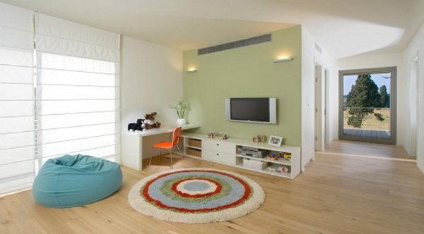 Бескаркасная мебель в интерьере квартиры: фото