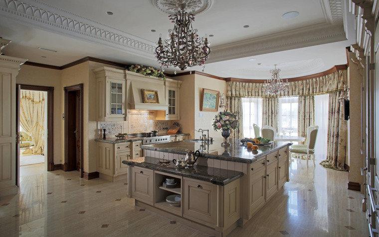 интерьер кухни - фото работы № 22656, архитектор Голубева Ольга