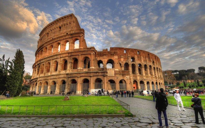 Колизей, рим, италия, туристы, достопримечательности, hdr скачать ... Колизей, рим, италия, туристы, достопримечательности, hdr скачать обои на леново