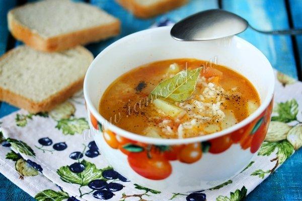 рецепт с фото вкусные супы бульоне