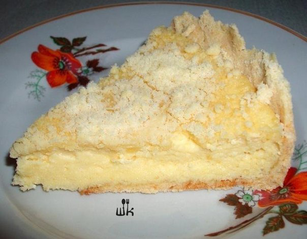 Пирог с творогом рецепт с фото