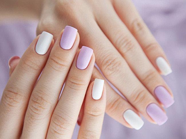 Фото ногти нежные цвета