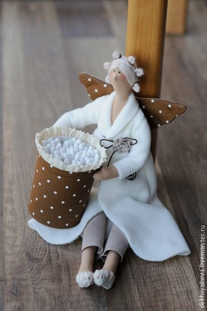 Тильда ангел в халате