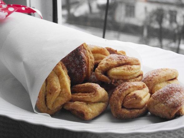 творожное печенье с корицей рецепт с фото