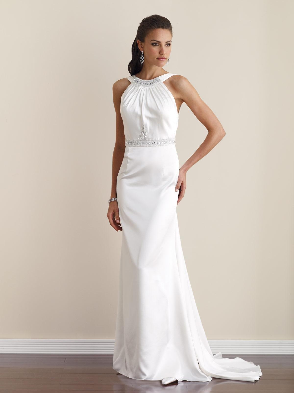 Простые свадебные платья в картинках