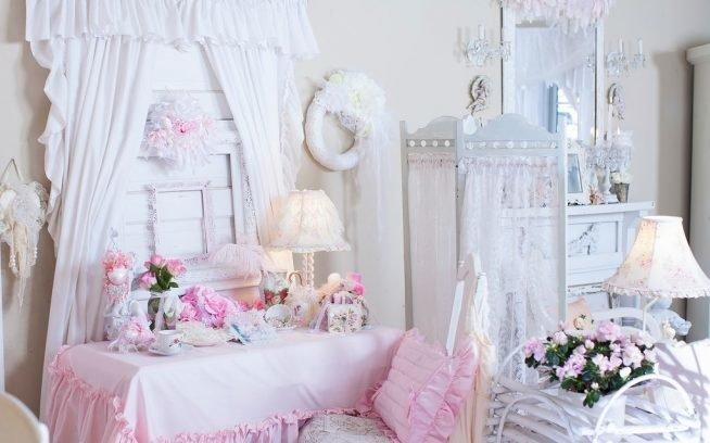 Особенности оформления спальни в стиле шебби шик