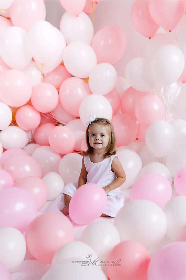 фотопроект с шарами название пекут куличи