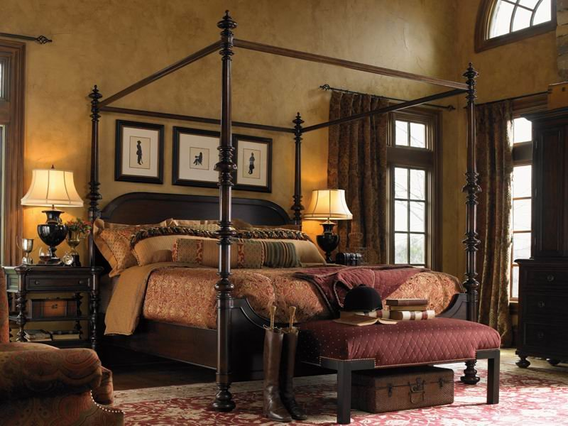 Кровать в Викторианском стиле