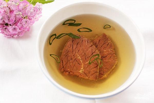 бульон говядины рецепт с фото