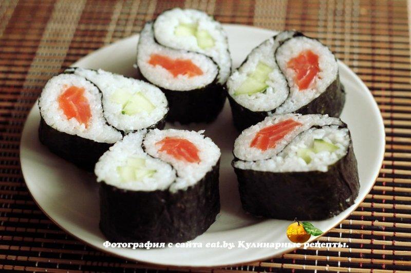 Суши роллы рецепты фото пошагово