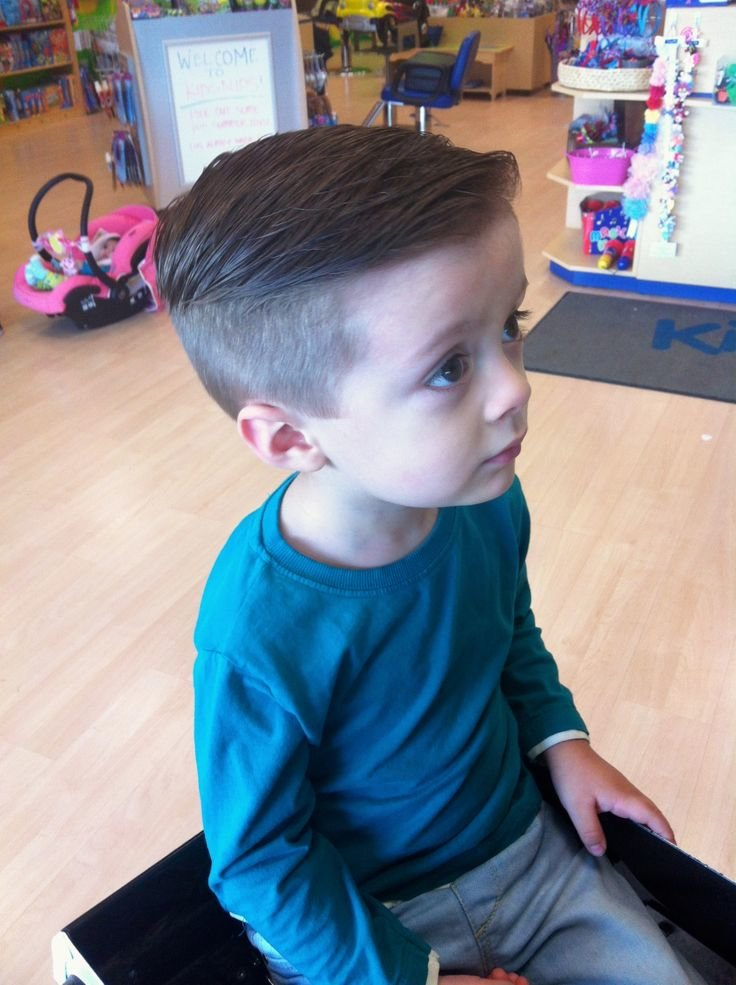 Trendy toddler boy haircuts