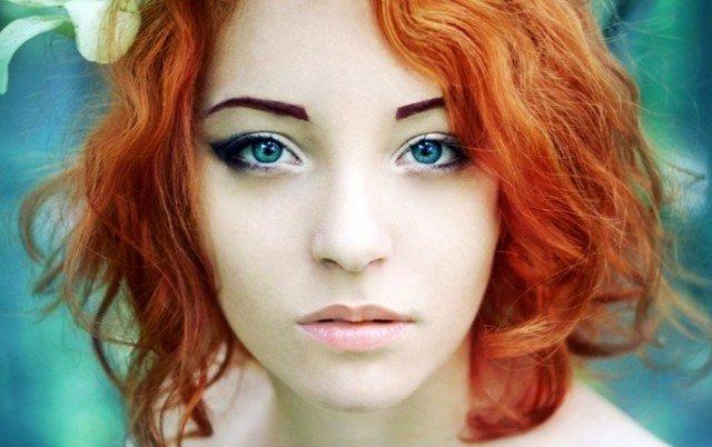 Как краситься тем, у кого рыжие