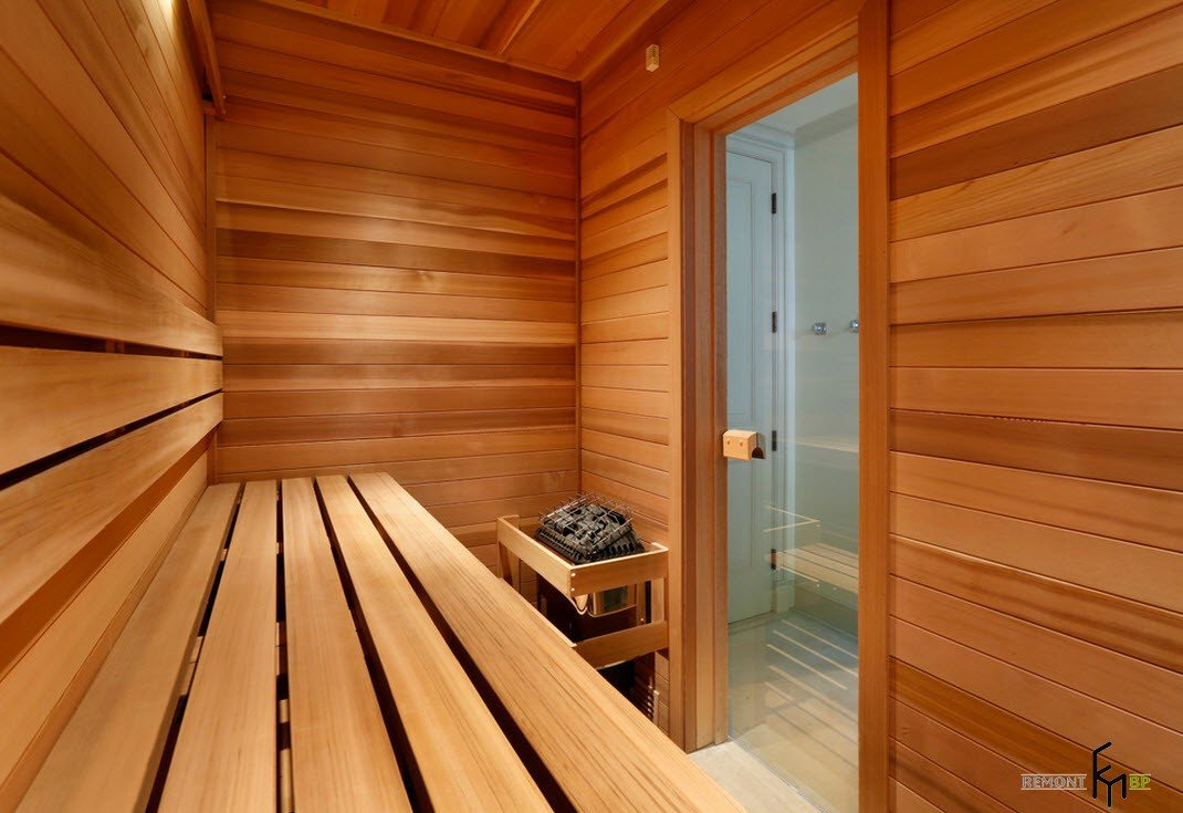 бани в доме фото штате
