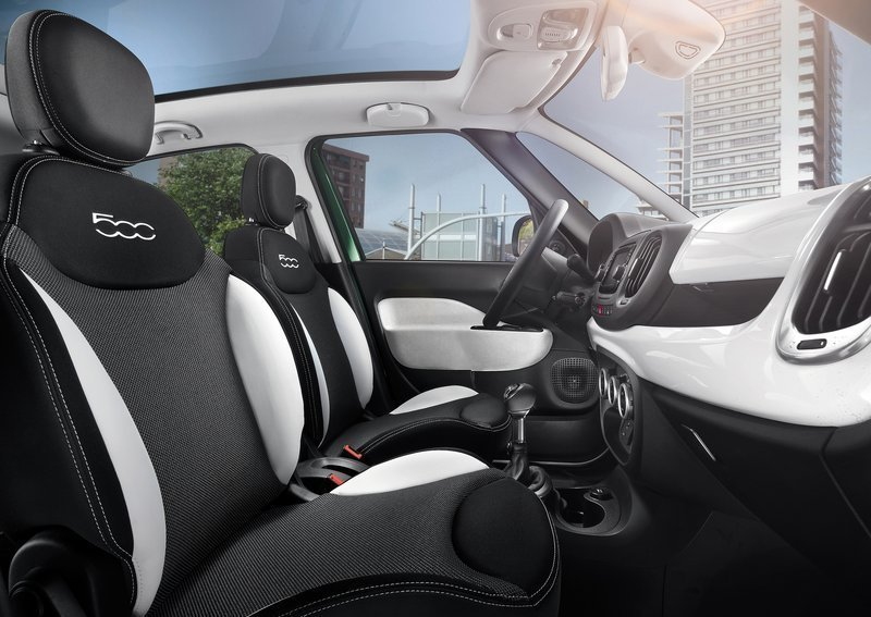 Fiat 500L Trekking. Интерьер салона