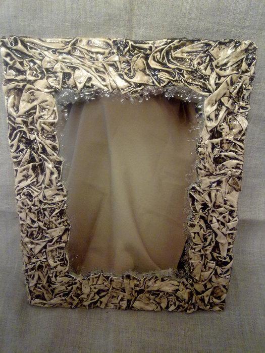 Как украсить зеркало своими руками из подручных материалов 142