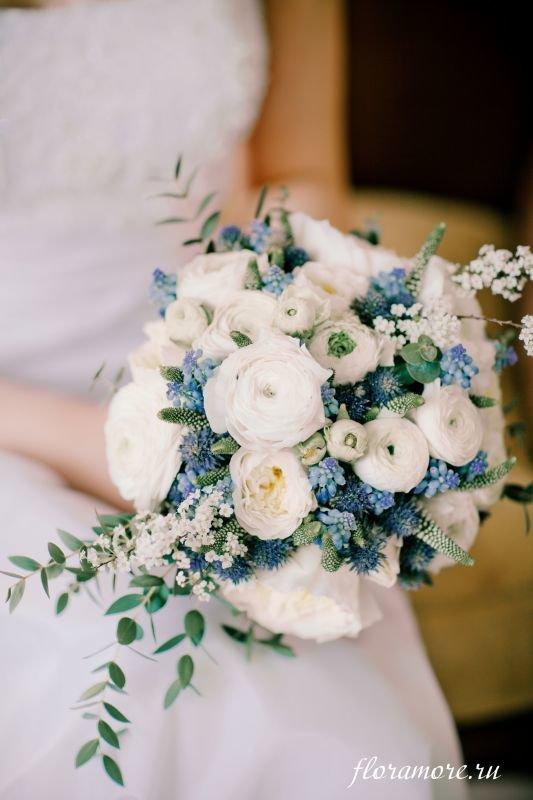 Букет невесты фото в бирюзовом цвете
