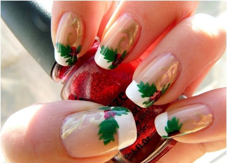 Пошаговое фото простых дизайнов ногтей