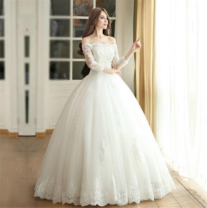 Фото пышные платья на свадьбу
