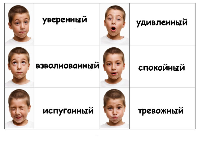 эмоции человека картинки