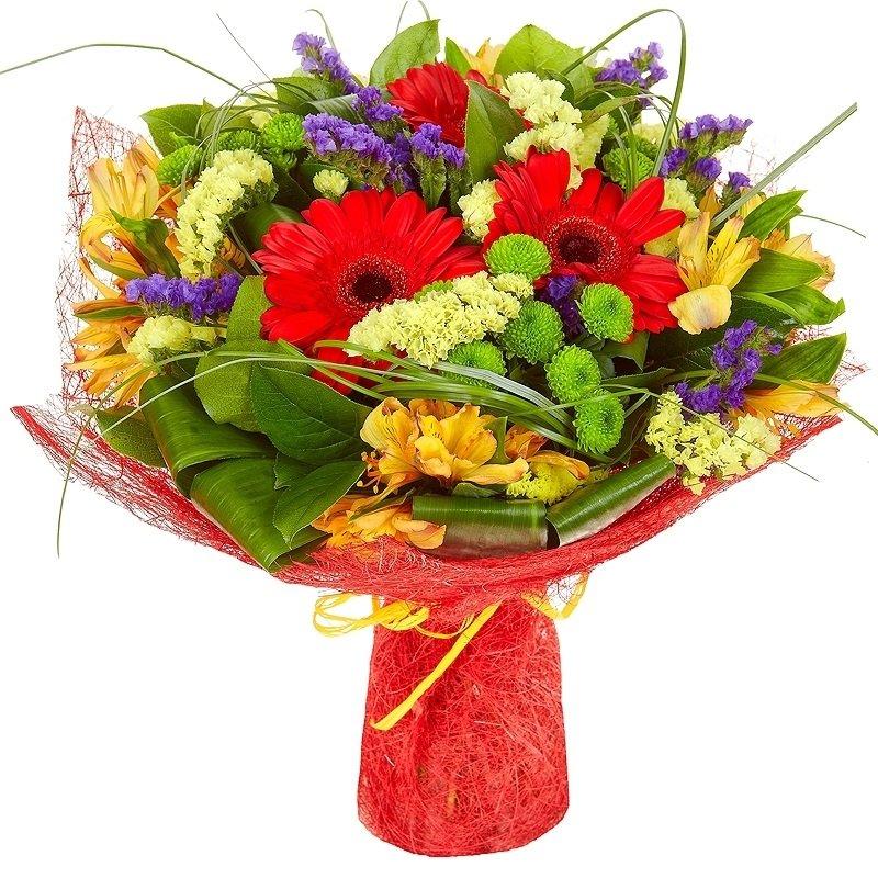Живые, букеты из живых цветов оптом киев