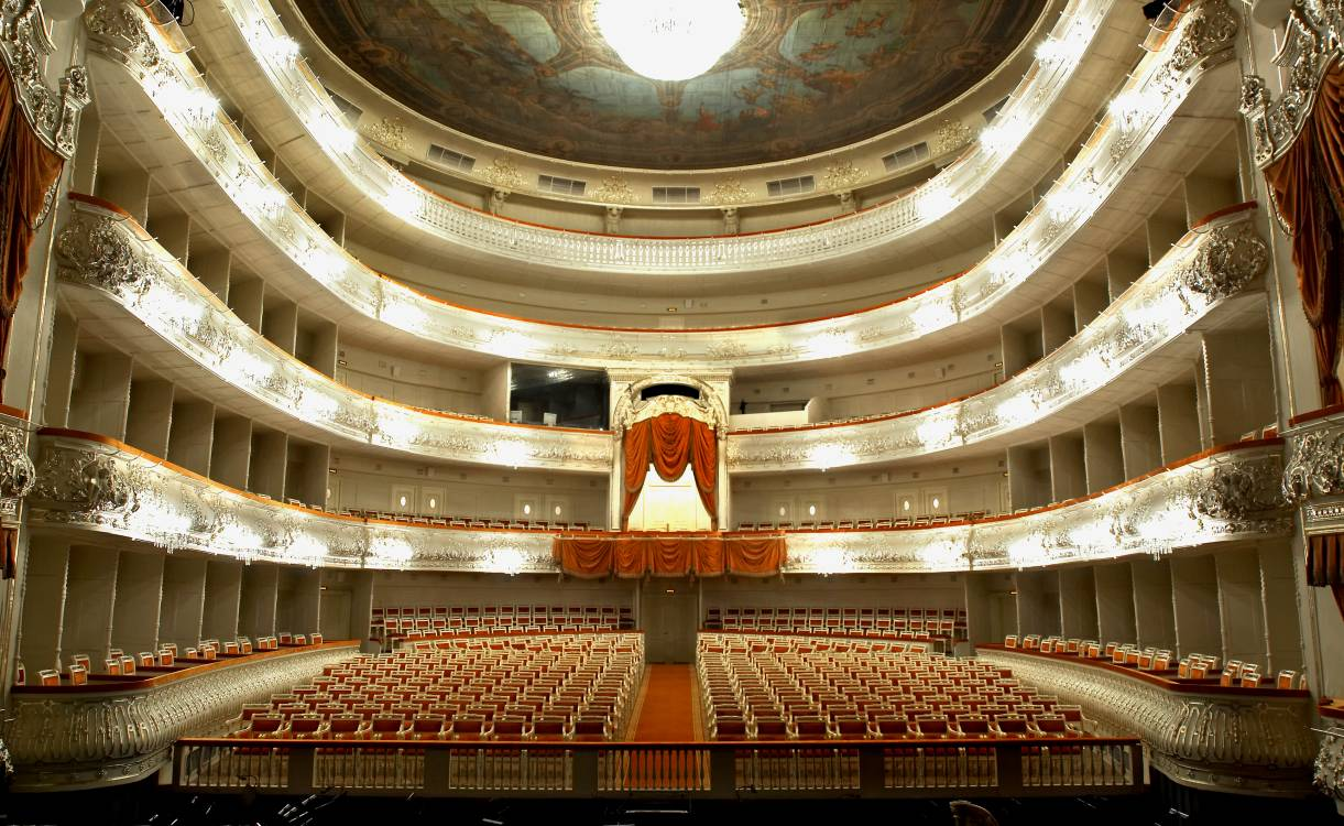 фото зала михайловский театр
