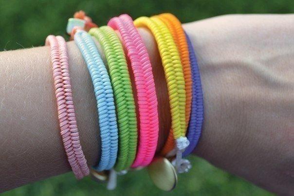 браслеты своими руками из ниток карточка пользователя Prelest0202