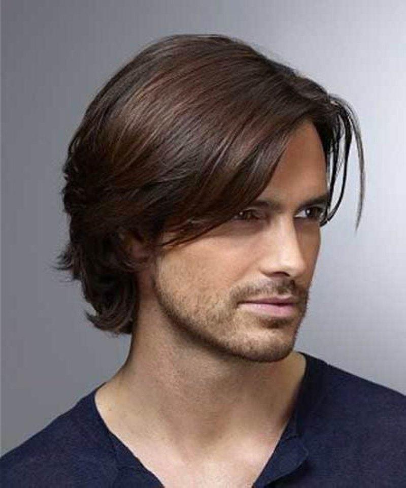 Мужские стильные стрижки на средние волосы