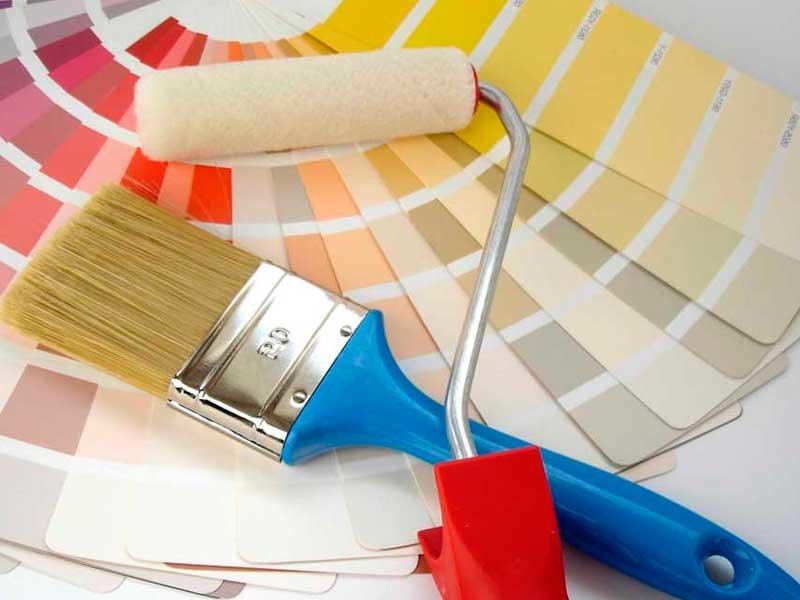 интерьерные краски для стен и потолков дома