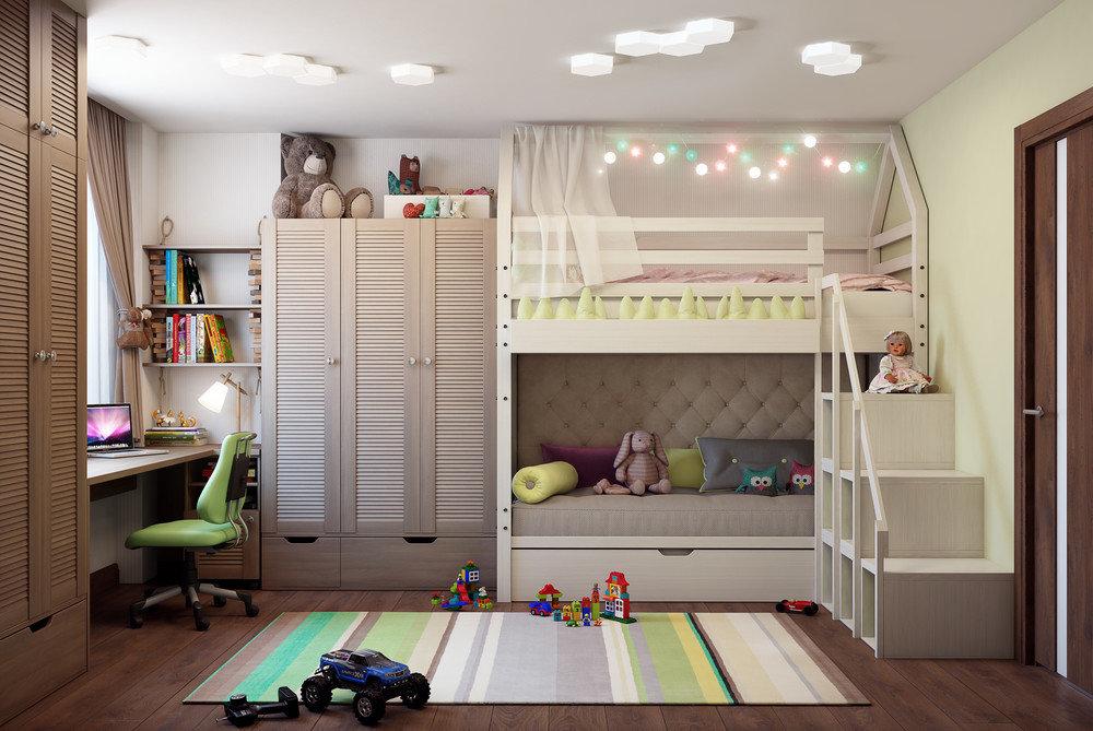 Фото дизайн комнаты для братьев
