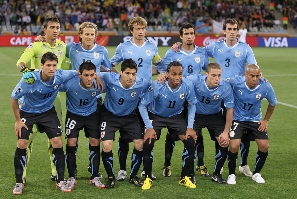 Сборная Уругвая на отборочных играх к ЧМ в 2016 году