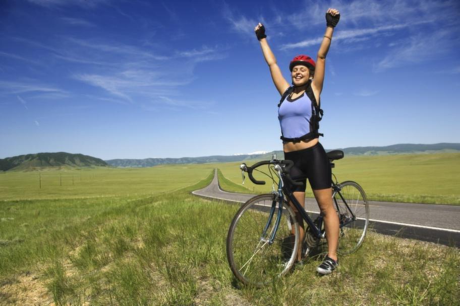 Правила езды на велосипеде для похудения