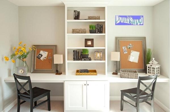 Письменный стол в интерьере детской комнаты