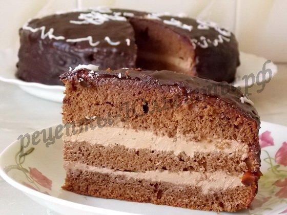 Как сделать торт сметанник в домашних условиях фото 380