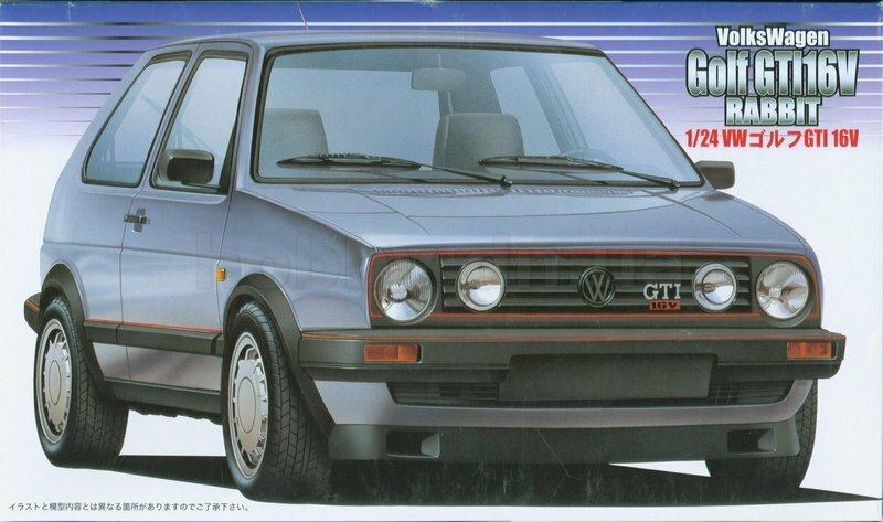 Fujimi Volkswagen Golf II GTI 16V
