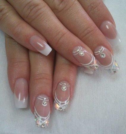 дизайн ногтей фото для невесты