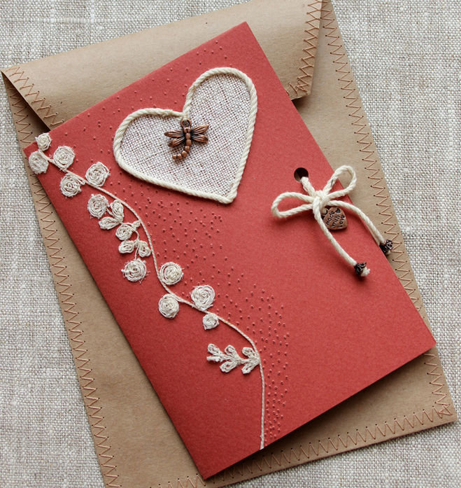 Для, скрапбукинг открытки валентинка
