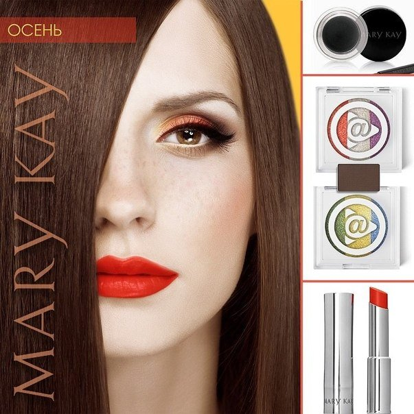 макияж по цветотипу мэри кей - 2
