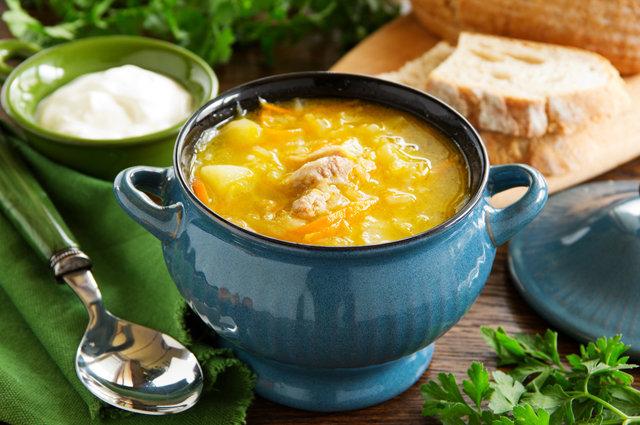 картофельный суп от похмелья