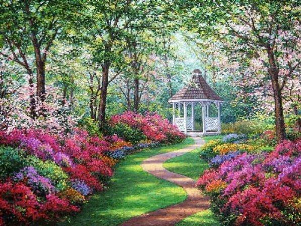 Beautiful English Garden Norways Most R