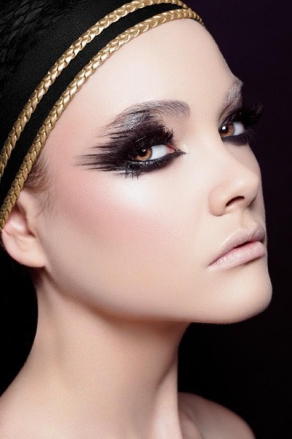 подиумный макияж фото