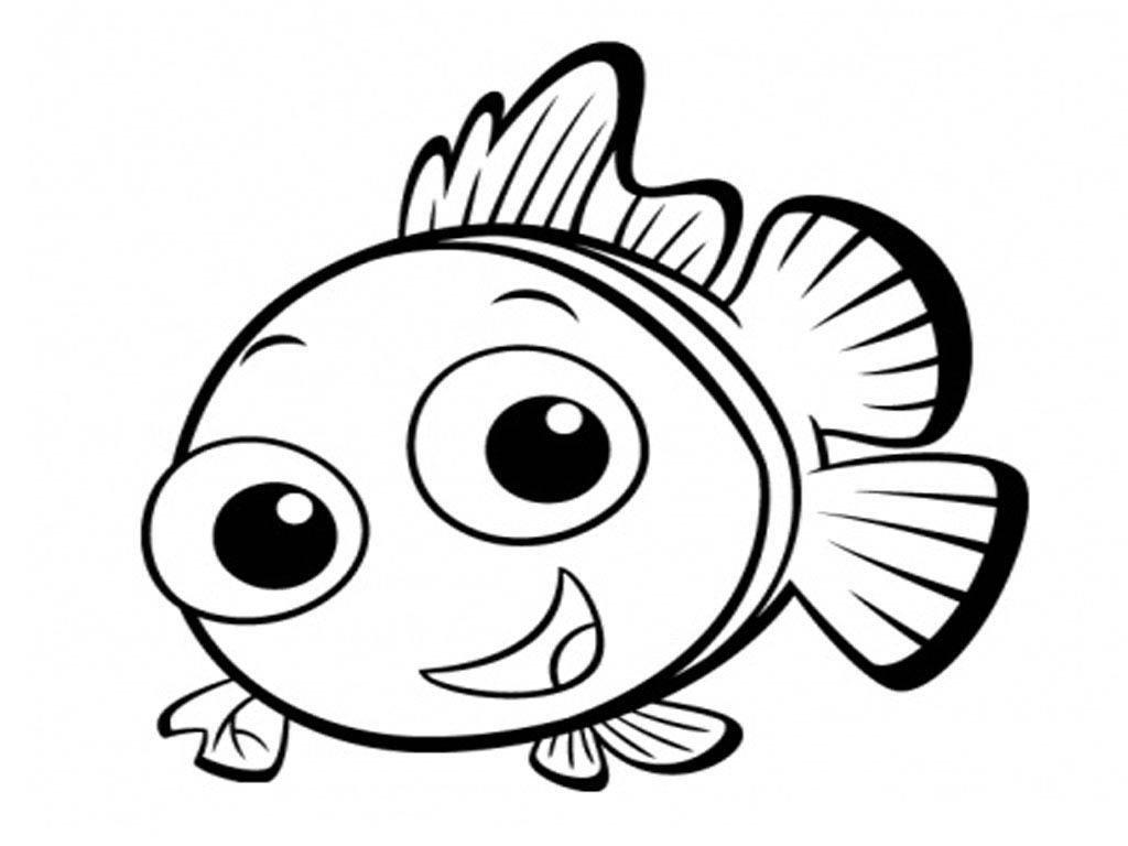 Февраля поделки, рисунок с рыбками для детей