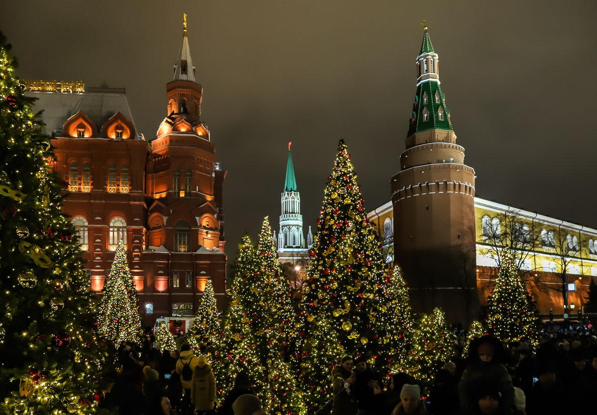 Кремль новогодний картинки