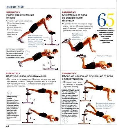 тренировка мужчины для похудения