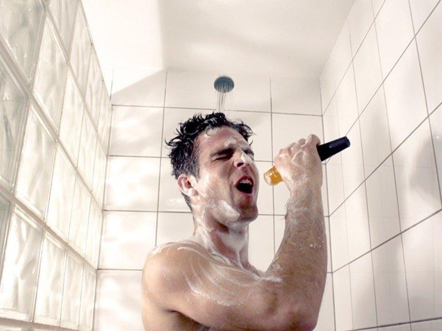 Прикольные картинки в ванной или душе, днем рождения